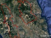 Σε ισχύ και αύριο Πέμπτη 5 Αυγούστου η έκτακτη προειδοποίηση πολύ υψηλού κινδύνου πυρκαγιάς στη Λακωνία