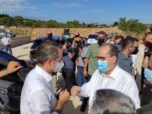 Επίσκεψη του πρωθυπουργού Kυριάκου Μητσοτάκη στην Περιφέρεια Πελοποννήσου