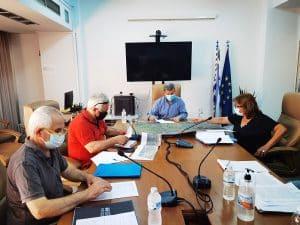 Σύσκεψη στην Π.Ε. Μεσσηνίας για τον αναδασμό στον Δήμο Οιχαλίας