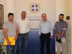 Ο κόμβος στο Λυγουριό στα θέματα της συνάντησης του περιφερειάρχη Πελοποννήσου Π. Νίκα με τον δήμαρχο Επιδαύρου