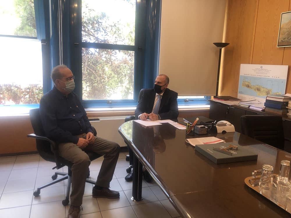 Συναντήσεις είχε ο περιφερειάρχης Πελοποννήσου Π. Νίκας στην Αθήνα στο υπουργείο Υποδομών και Μεταφορών