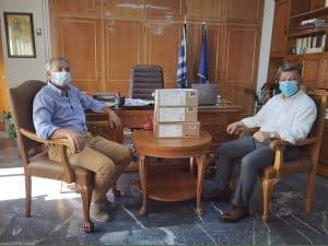 Υποστήριξη της Περιφέρειας Πελοποννήσου με εξοπλισμό στο Νοσοκομείο Κυπαρισσίας