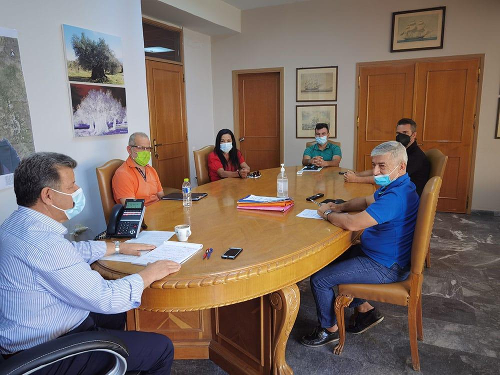 Συνάντηση με το Σωματείο Εκπαιδευτών Οδήγησης και Κυκλοφοριακής Αγωγής Μεσσηνίας