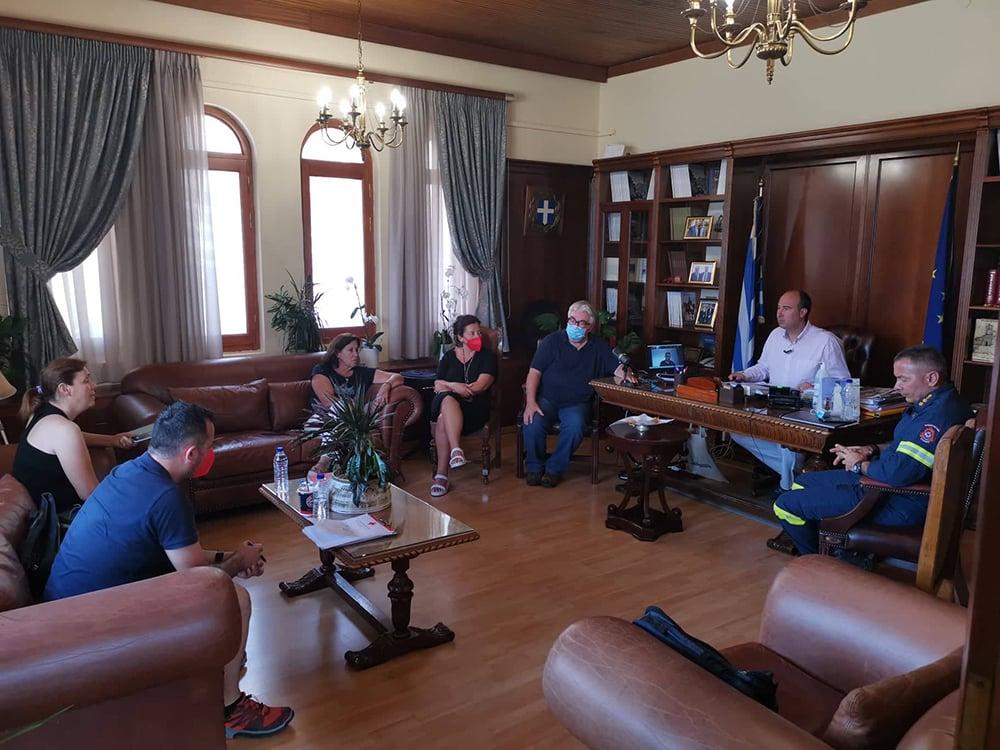 Εκτακτη συνεδρίαση του ΣΟΠΠ Κορινθίας, στα γραφεία της Περιφερειακής Ενότητας