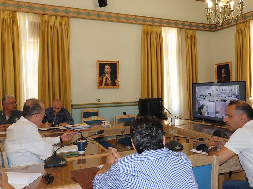 Σύσκεψη για την συμμετοχή της Περιφέρειας Πελοποννήσου στη φετινή ΔΕΘ