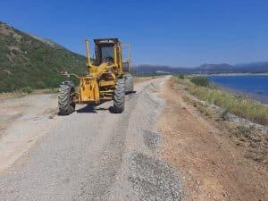 Ξεκίνησε η υλοποίηση του έργου στην λίμνη Τάκα