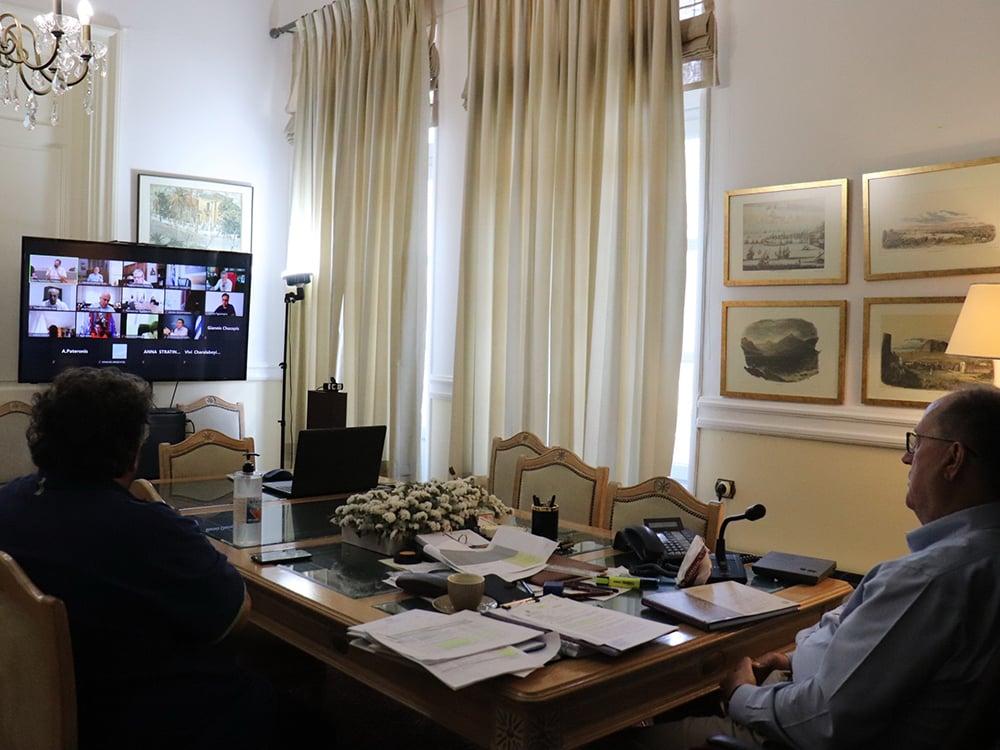 Σε κατάσταση ετοιμότητας ο μηχανισμός της πολιτείας για τον καύσωνα – ευρεία σύσκεψη με συμμετοχή υπουργών, περιφερειαρχών και στρατηγικής σημασίας φορέων