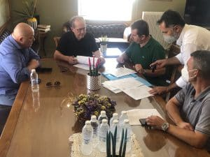Συμβάσεις έργων στην Π.Ε. Αργολίδας υπέγραψε στο Ναύπλιο ο περιφερειάρχης Πελοποννήσου Π. Νίκας