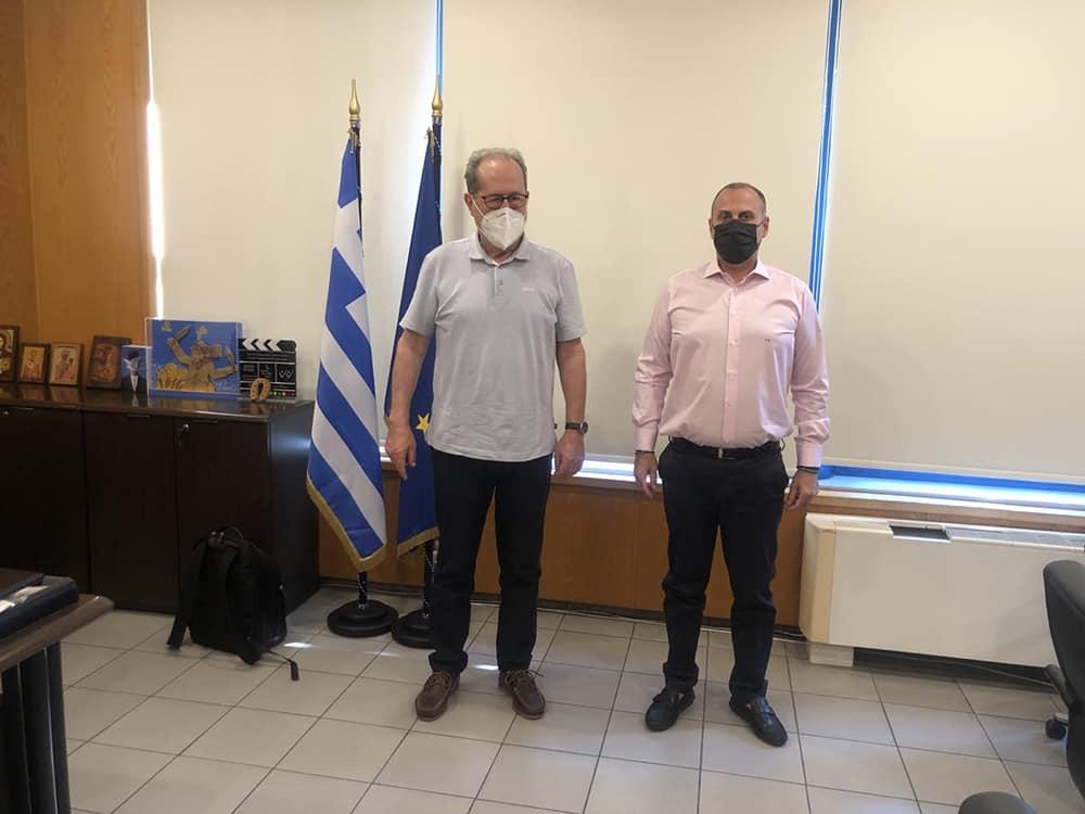 Σειρά επαφών σε υπουργεία είχε στην Αθήνα σήμερα Τρίτη ο περιφερειάρχης Πελοποννήσου Π. Νίκας