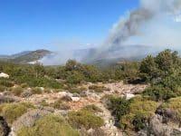 Πολύ υψηλός κίνδυνος πυρκαγιάς στην Αργολίδα αύριο Δευτέρα 2 Αυγούστου