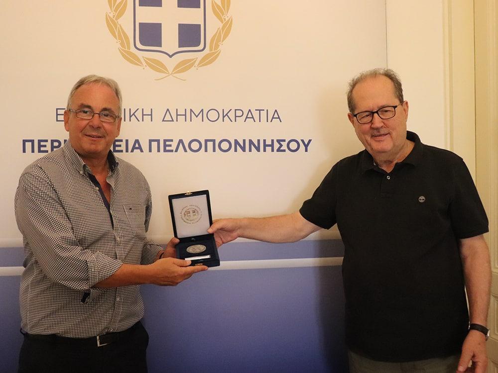 Δρόμος Νεμέα – Κιάτο και ΠΟΠ Νεμέας στη συνάντηση του περιφερειάρχη Πελοποννήσου Π. Νίκα με τον δήμαρχο Κ. Φρούσιο