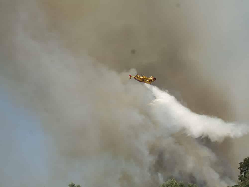 Πολύ υψηλός κίνδυνος πυρκαγιάς για το νομό Μεσσηνίας (κατηγορία κινδύνου 4) και για αύριο Τετάρτη 4 Αυγούστου