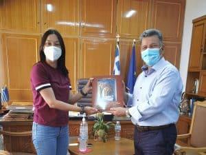 Συνάντηση του αντιπεριφερειάρχη Μεσσηνίας Στάθη Αναστασοόπουλου με την βουλευτή του ΚΙΝΑΛ Νάντια Γιαννακοπούλου