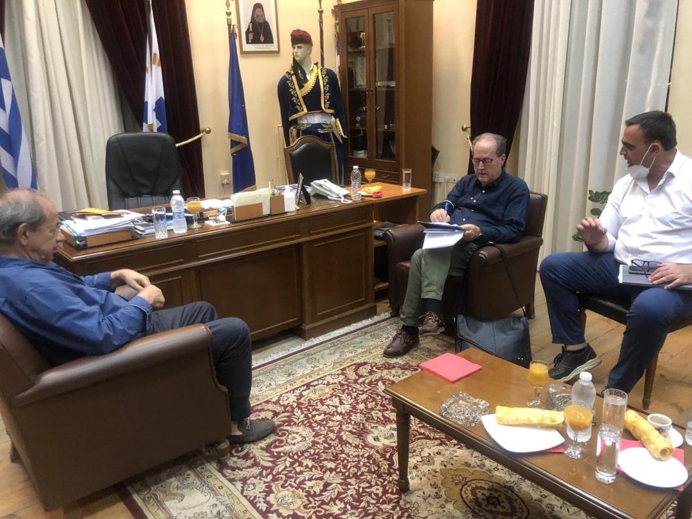 Στο Γύθειο το απόγευμα σήμερα Πέμπτη 16 Σεπτεμβρίου ο περιφερειάρχης Πελοποννήσου Π. Νίκας, ενημέρωση για παρεμβάσεις στα πυρόπληκτα