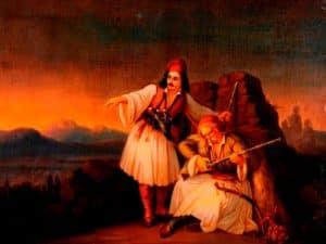 Δυο πολεμιστές, Θεόδωρος Βρυζάκης