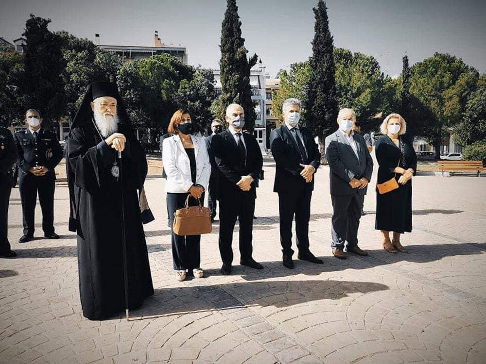 Στην εκδήλωση μνήμης για τους Μικρασιάτες στην Κόρινθο παρέστη η αντιπεριφερειάρχης Αθ. Κόρκα