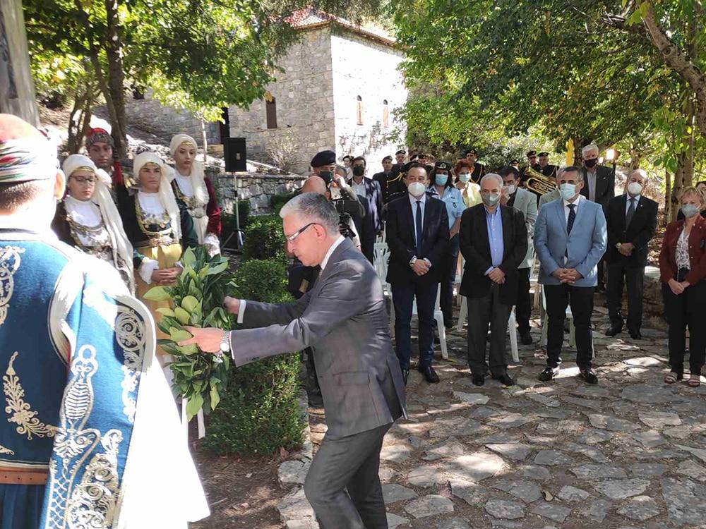"""Εκδηλώσεις για τον """"Γέρο του Μοριά"""" το περασμένο Σάββατο, στο Λιμποβίσι"""