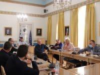 Σύσκεψη για την μαρίνα του Ναυπλίου, με τη συμμετοχή του περιφερειάρχη Πελοποννήσου Π. Νίκα