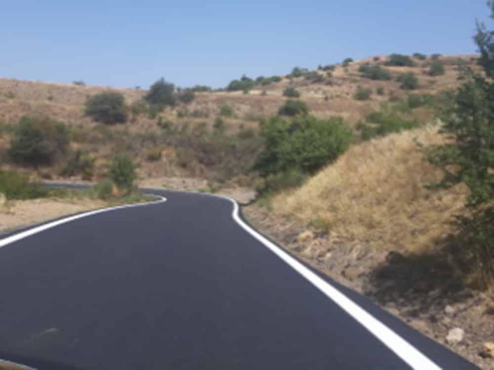 Βαίνει προς ολοκλήρωση η συντήρηση και βελτίωση του δρόμου Γαρέα – Μαυρίκι – Βέρβενα