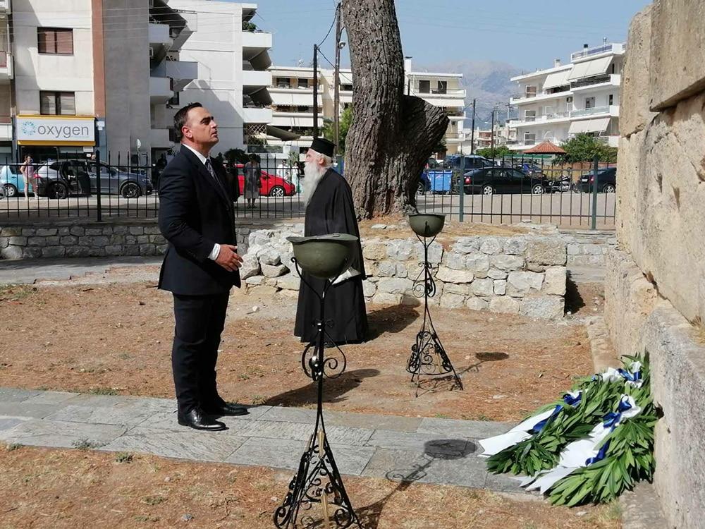 Τιμήθηκε στην Σπάρτη η Ημέρα Εθνικής Μνήμης της γενοκτονίας των Ελλήνων της Μικράς Ασίας από το τουρκικό κράτος