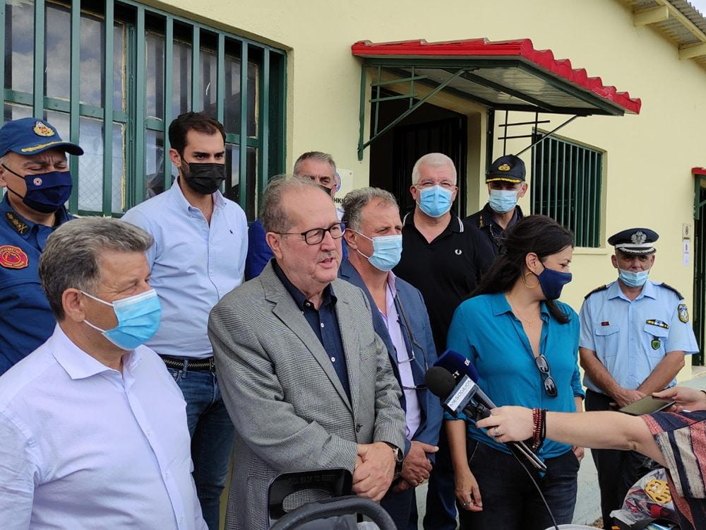 Τις αποθήκες Πολιτικής Προστασίας στη Μεσσηνία παρουσίασε ο περιφερειάρχης Πελοποννήσου Π. Νίκας, επίδοση υλικού και εξοπλισμού σε εθελοντικές ομάδες
