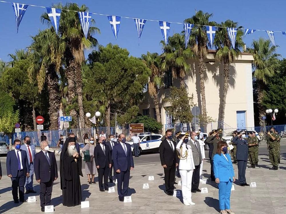Στην τελετή μνήμης για τον Ι. Καποδίστρια, παρουσία της Προέδρου της Δημοκρατίας, παρέστη ο περιφερειάρχης Πελοποννήσου Π. Νίκας