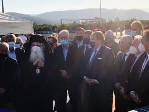 Παρουσία του περιφερειάρχη Πελοποννήσου Π. Νίκα τα εγκαίνια του κλειστού κολυμβητηρίου στο Αργος