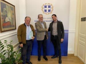 Υπογράφηκε από τον περιφερειάρχη Πελοποννήσου Π. Νίκα σύμβαση 1,6 εκ. ευρώ για την σταθεροποίηση των πρανών του κάστρου της Μονεμβασίας