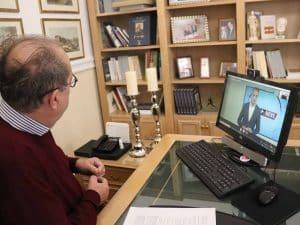 Συνέντευξη του περιφερειάρχη Πελοποννήσου Π. Νίκα σε τηλεοπτικούς σταθμούς της Μακεδονίας