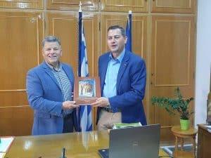 Συνάντηση με τον αντιπεριφερειάρχη Αγροτικής Ανάπτυξης της Περιφέρειας Δυτικής Ελλάδας