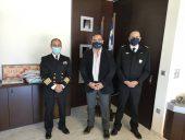 Συνάντηση του αντιπεριφερειάρχη Λακωνίας με στελέχη του Λιμενικού Σώματος